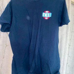 navy tee shirt